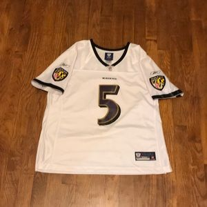 Women's Large NFL Baltimore Ravens Stitched Jersey